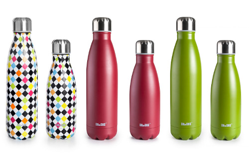 Double wall thermos bottle